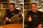Anche Schwarzenegger si è messo in quarantena con i suoi animali, un asino e un mini cavallo: