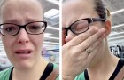 Desperate mom goes live on TikTok and scolds compulsive buyers after discovering diapers at her local supermarket are out of stock.