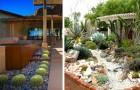 10 idee da cui trarre spunto per decorare il giardino con cactus e piante grasse