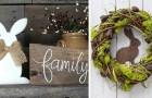 13 spunti creativi per decorare casa in stile rustico in occasione di Pasqua e primavera