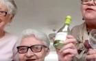 Amies depuis plus de 40 ans, ces trois vieilles dames ont décidé de passer la quarantaine sous le même toit