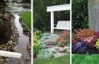 17 idee utili per trasformare il nostro giardino in un piccolo angolo di paradiso