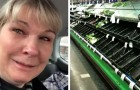 A nurse burst into tears when she finds out that the supermarket is emptied due to Coronavirus hysteria