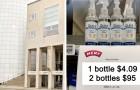 1 Desinfektionsgel 4 Euro, 2 Desinfektionsgele 95 Euro: Dieser Supermarkt hat eine schlaue Methode gefunden, um Hamsterkäufe zu verhindern
