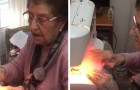 Everyday this 84-year-old grandmother makes 50 preventive face masks and donates them to her local hospital and people in need
