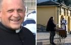 Coronavirus: een priester schenkt het beademingsapparaat om het leven van een onbekende jongere te redden