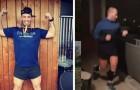 Wegen der Isolation kann er nicht ins Fitness-Studio: Ein junger Mann läuft einen ganzen Marathon auf seinem Balkon