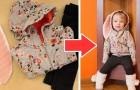Un metodo semplice per trasformare una felpa e dei leggings in un simpatico costume da coniglietto
