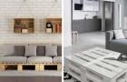 10 proposte irresistibili per arredare il soggiorno riciclando i pallet e aggiungere un tocco di stile all'ambiente