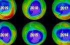 Lo strato di ozono che protegge la Terra sta