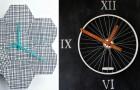 20 idee una più bella dell'altra per creare orologi fai-da-te davvero originali