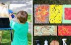5 tecniche di pittura insolite e divertenti da provare a casa con i bambini
