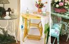 16 spunti creativi per riciclare una vecchia macchina da cucito e realizzare originali mobili per casa e giardino