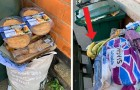 Panic surrounding the Coronavirus: a city council member photographs dozens of garbage bins full of fresh food gone to waste