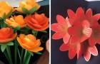 7 strepitose decorazioni da realizzare con la carta per modellare fiori e non solo