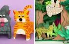 12 idee deliziose per tanti lavoretti da realizzare con la carta insieme ai bambini