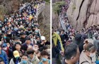 China: mais de 20.000 pessoas na fila para entrar em um parque que foi reaberto após o bloqueio por causa do Covid-19