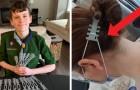 Questo ragazzino ha stampato in 3D una protezione per le orecchie che allevia il dolore fisico di medici e infermieri