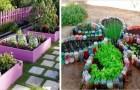 10 bonnes solutions DIY pour créer de magnifiques jardins potagers colorés