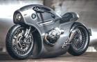 Dieses von einer russischen Garage entworfene BMW-Motorrad sieht aus wie etwas aus einem Steampunk-Sci-Fi-Film