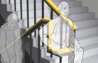 Une entreprise a conçu une rampe qui permet aux personnes âgées et handicapées de se reposer en montant les escaliers