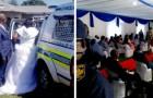 Un couple de mariés est arrêté le jour de leur mariage pour avoir enfreint l'interdiction de rassemblement