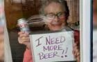 Eine nette 93jährige Frau