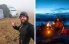 Passer le confinement dans un camping-car dans les bois : le choix
