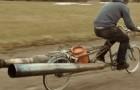 Un vélo tout bête devient le moyen de locomotion le plus dangereux jamais créé