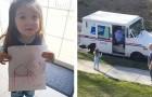 Uma menina escreve para seu cachorro que se foi: no dia seguinte o carteiro entrega para ela uma carta de agradecimento