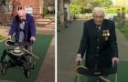 Im Alter von 99 Jahren gelingt es ihm, allein durch das