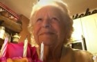 Una abuela de 88 años se canta sola el