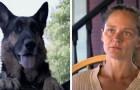 Uma mulher sofre um acidente de carro e fica inconsciente: um cão de rua consegue salvá-la
