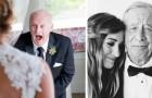 12 fotos conmovedoras de padres que no logran contener la emoción al ver a sus hijas casarse