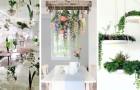 13 irresistibili proposte per decorare gli interni con piante sospese dal soffitto