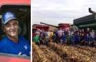 Als er wegen seiner Krebserkrankung nicht mehr auf dem Feld arbeiten kann, tun sich die Nachbarn zusammen und helfen bei der Ernte