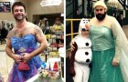 These dads would do anything for their children, even dressing like a princess: 17 photos that show their tender side