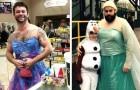 Estos padres harían cualquier cosa por sus hijos, incluso vestirse de princesa: 17 fotos muestran el lado tierno de ellos