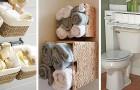 15 praktische und geniale Lösungen für die Organisation des Raums im kleinsten Badezimmer
