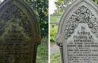 Avec le confinement en cours, un homme s'est offert à nettoyer de fond en comble les pierres tombales des cimetières vides
