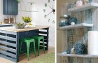 Aménager sa maison avec des palettes : 16 idées originales dont s'inspirer pour créer de superbes meubles en bois
