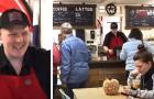 Nessuno voleva assumerlo per colpa del suo autismo, così questo ragazzo ha deciso di aprire una caffetteria tutta sua