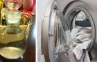 Aceto bianco in lavatrice: alcuni consigli utili per ottenere un bucato soffice e profumato grazie alla sua azione