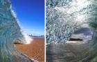 Un ragazzo riesce a immortalare le onde dell'oceano con foto che sembrano in continuo movimento