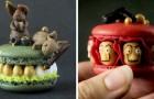Una ragazza realizza in casa macarons dalle forme più fantasiose: la cura per il dettaglio è impressionante