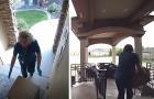 No meio de uma pandemia, duas mulheres se disfarçam de enfermeiras e roubam os pacotes entregues em frente às casas