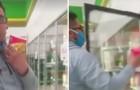 Prova um sorvete com o dedo e o coloca de volta no lugar: um gesto impensado em tempos de pandemia global