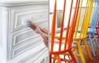 9 handige en originele trucs om oude meubels te schilderen en nieuw leven in huis te brengen