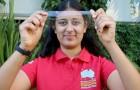 Mit 17 erfand sie einen biologisch abbaubaren