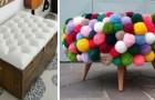 13 ingegnosi progetti di riciclo perfetti per trasformare tanti oggetti in mobili e decorazioni originali